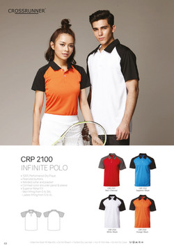 CRP2100 DRI FIT POLO T-SHIRT