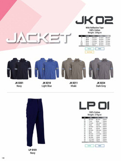 JK02 INDUSTRIAL JACKET LP01