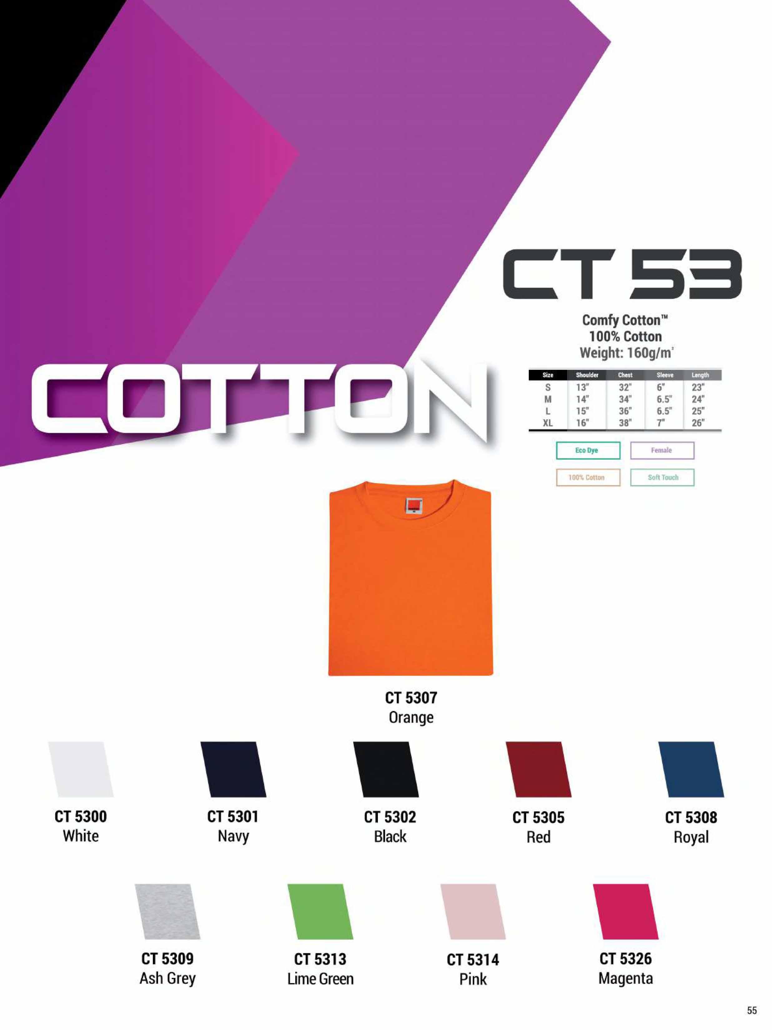 CT53 COTTON T-SHIRT