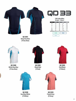 QD33 DRI FIT POLO T-SHIRT