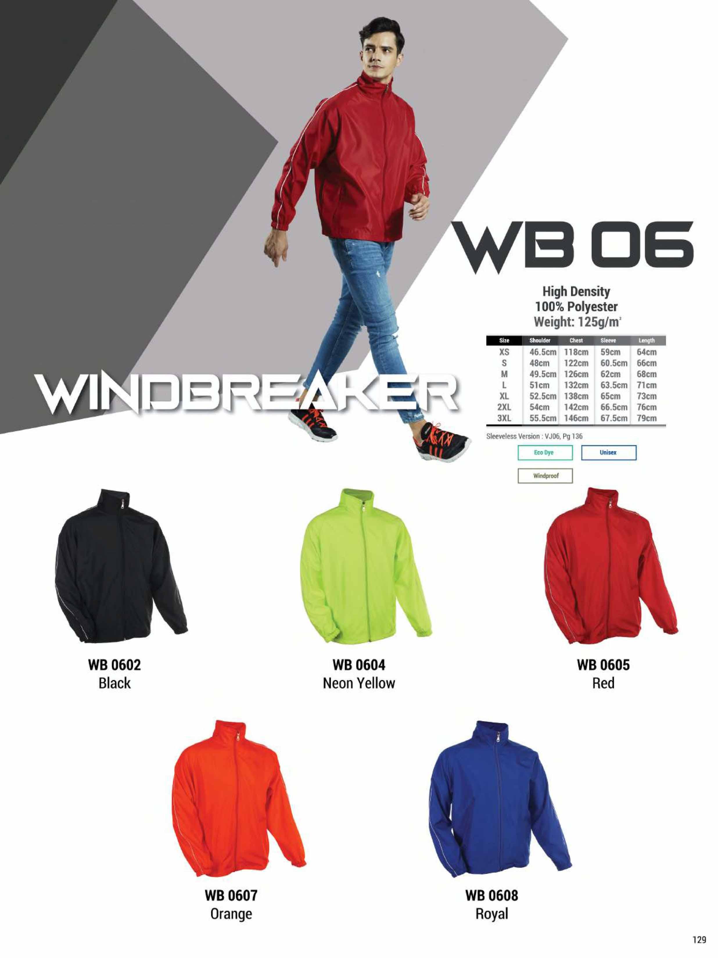 WB06 WINDBREAKER