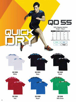 QD55 DRI FIT T-SHIRT