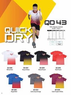 QD43 DRI FIT T-SHIRT