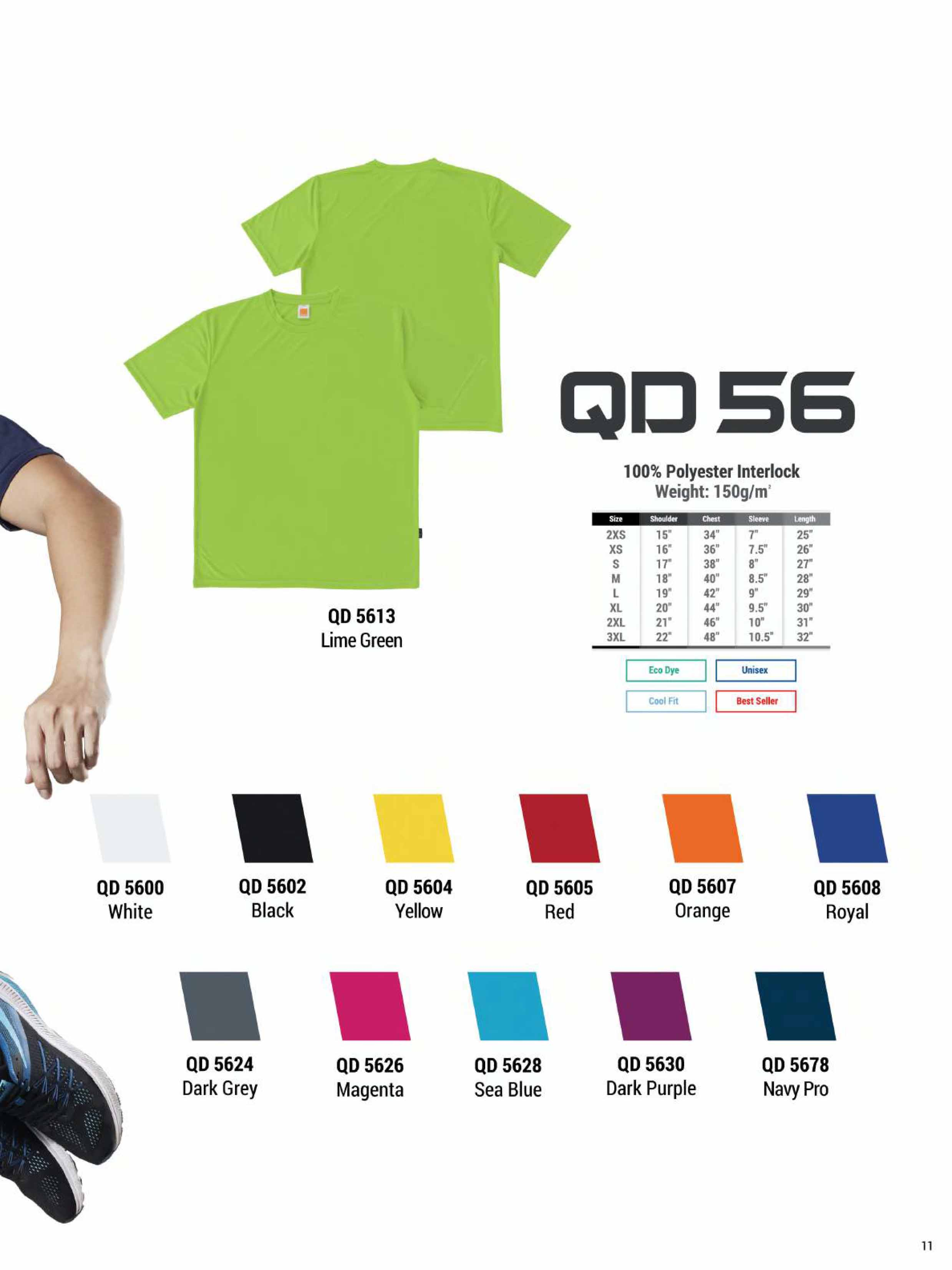 QD56 DRI FIT T-SHIRT