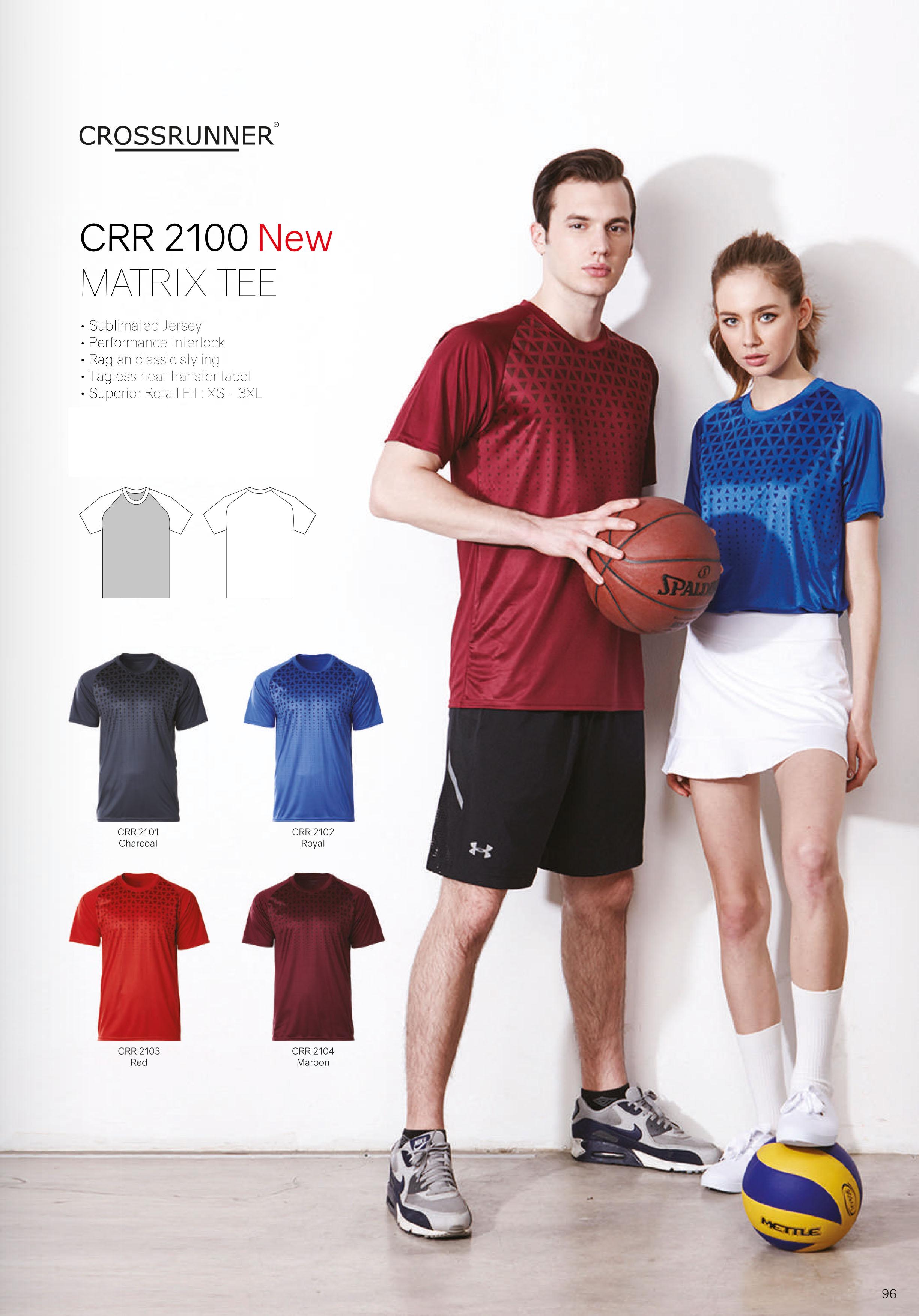 CRR2100 DRI FIT T SHIRT