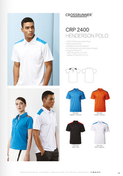 CRP2400 DRI FIT POLO T-SHIRT