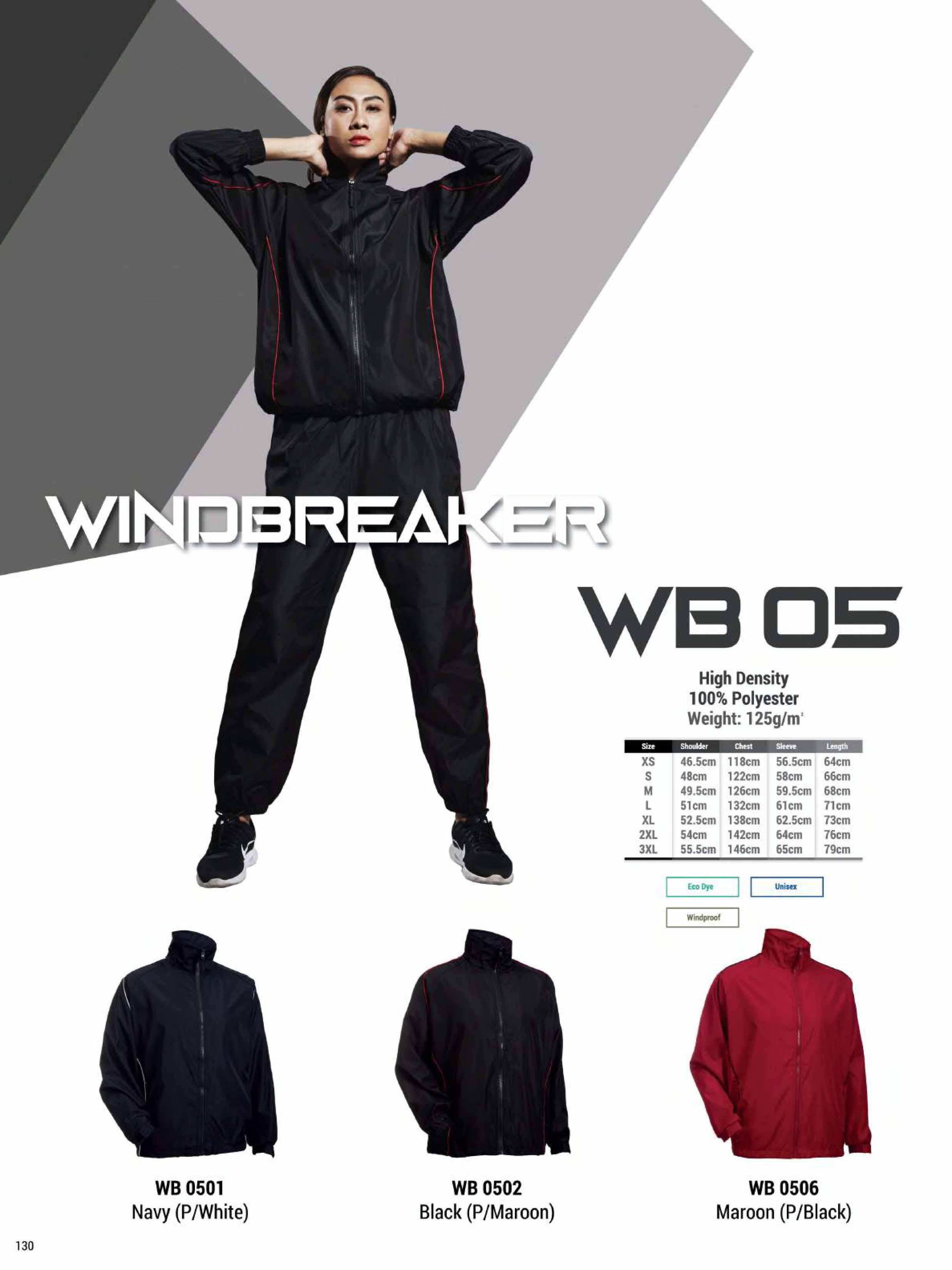 WB05 WINDBREAKER