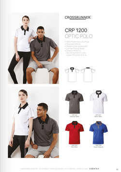 CRP1200 DRI FIT POLO T-SHIRT