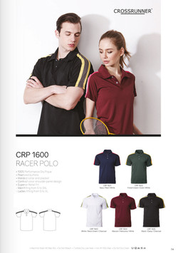 CRP1600 DRI FIT POLO T-SHIRT