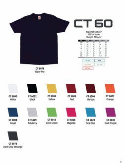 CT60 COTTON T-SHIRT
