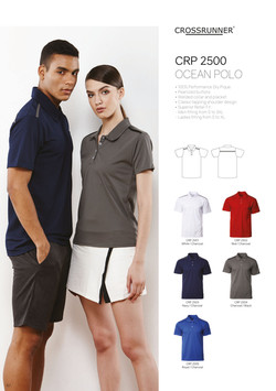 CRP2500 DRI FIT POLO T-SHIRT