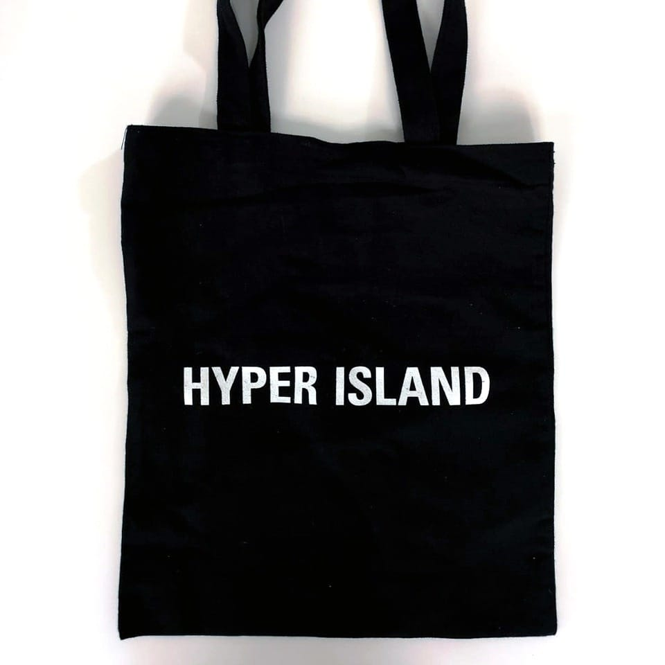 silkscreen on totebag