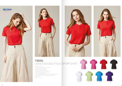 73800L COTTON POLO T-SHIRT
