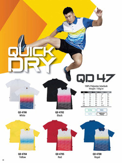 QD47 DRI FIT POLO T-SHIRT