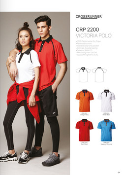 CRP2200 DRI FIT POLO T-SHIRT
