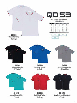 QD53 DRI FIT POLO T-SHIRT