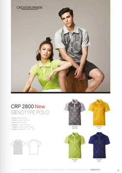 CRP2800 DRI FIT POLO T-SHIRT