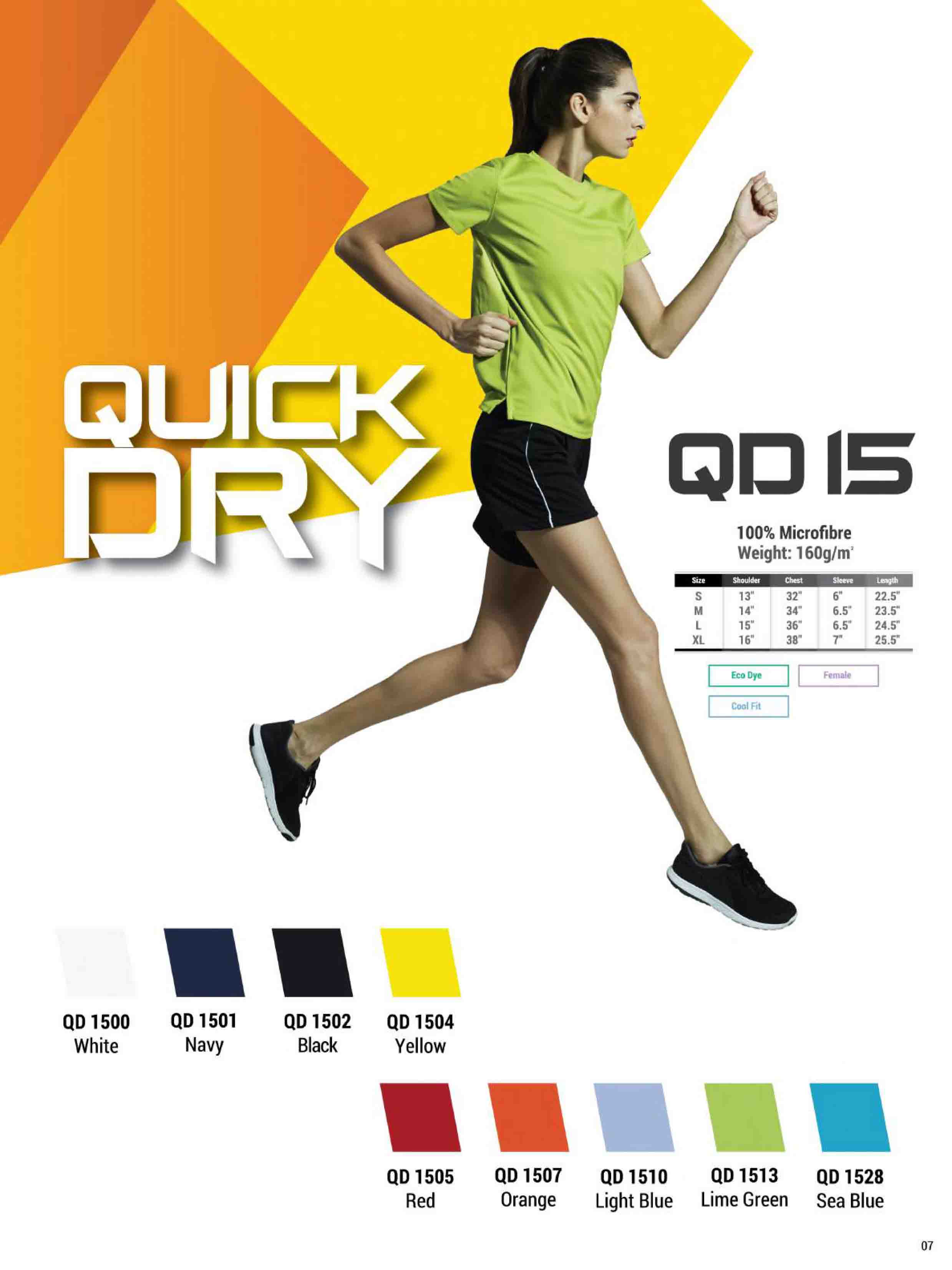 QD15 DRI FIT T-SHIRT