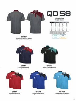 QD58 DRI FIT POLO T-SHIRT