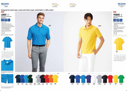 6800 COTTON POLO T-SHIRT