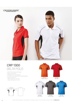 CRP1300 DRI FIT POLO T-SHIRT