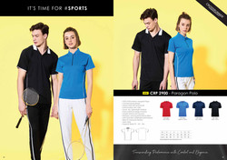 CRP2900 DRI FIT POLO T-SHIRT