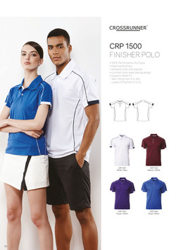 CRP1500 DRI FIT POLO T-SHIRT