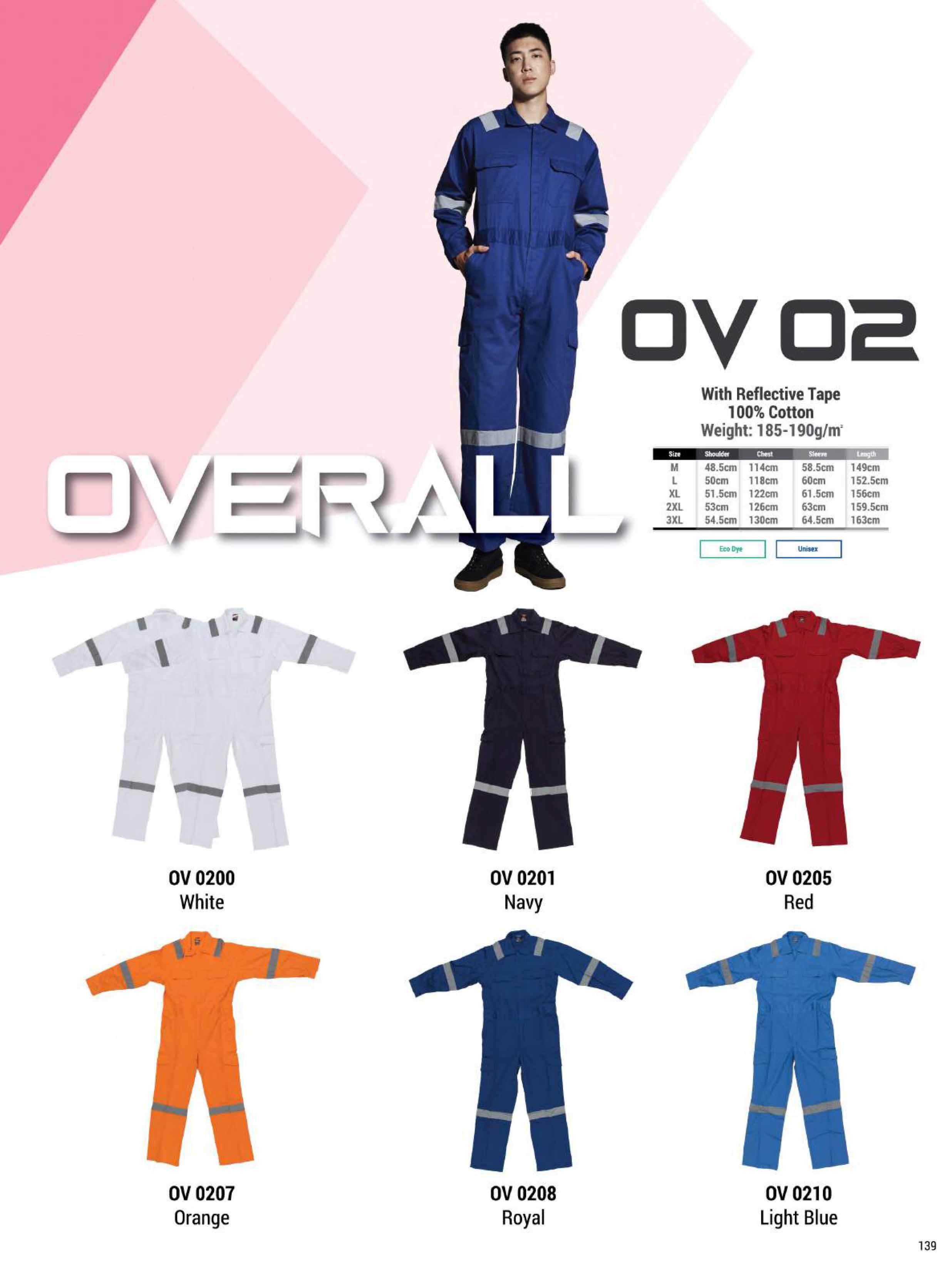 OV02 COVERALL