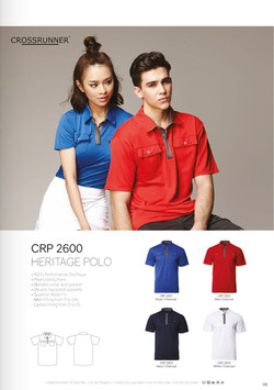 CRP2600 DRI FIT POLO T-SHIRT