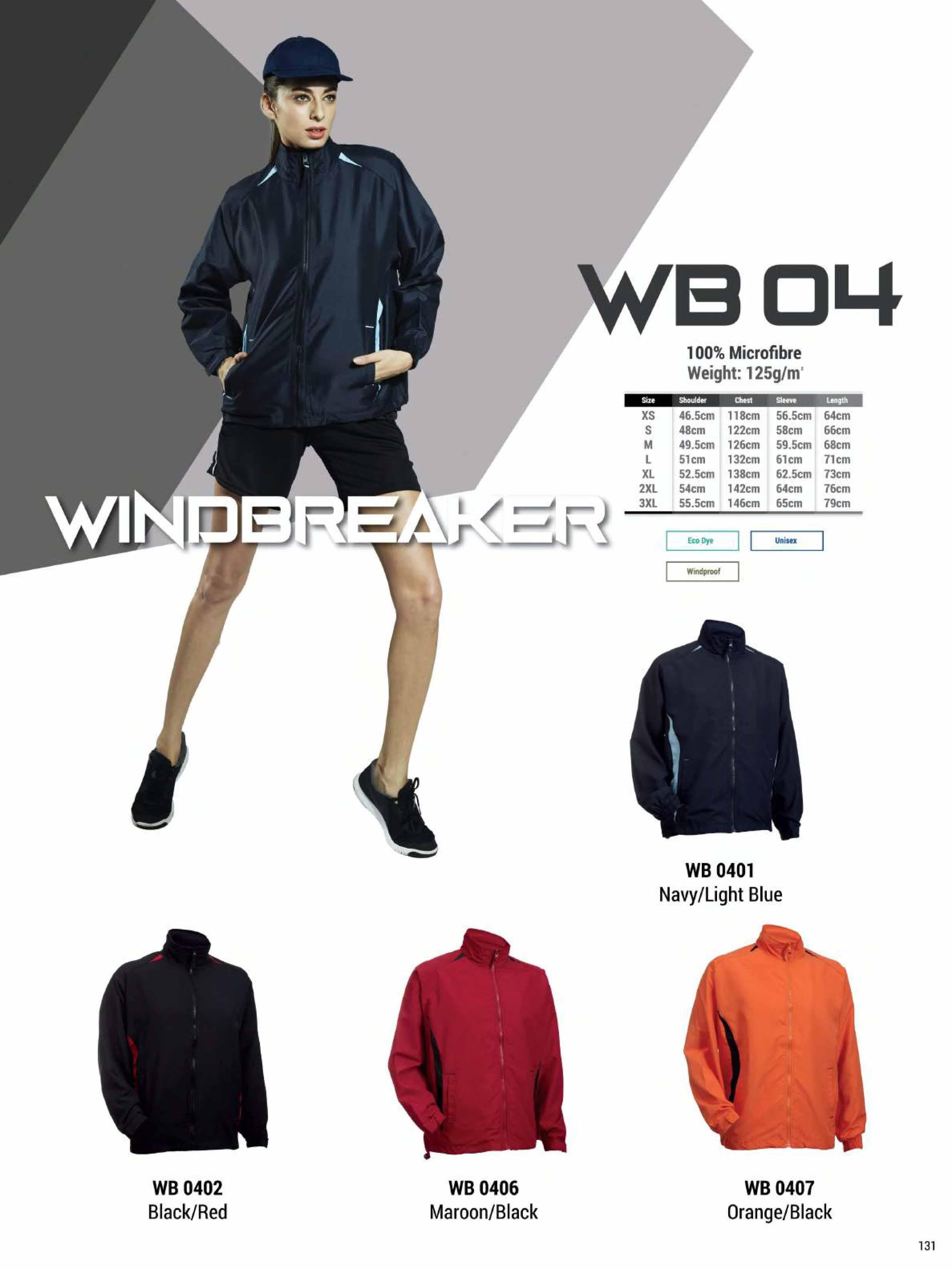 WB04 WINDBREAKER