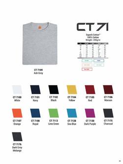 CT71 COTTON T-SHIRT