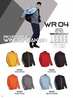 WR04 REVERSIBLE WINDBREAKER