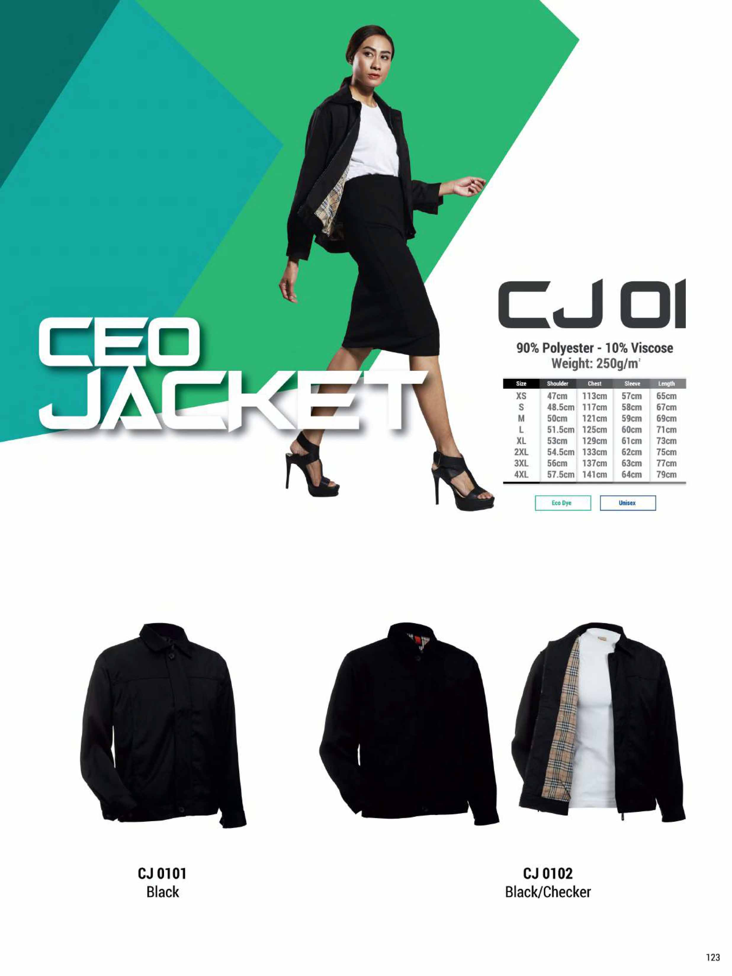 CJ01 EXECUTIBE JACKET