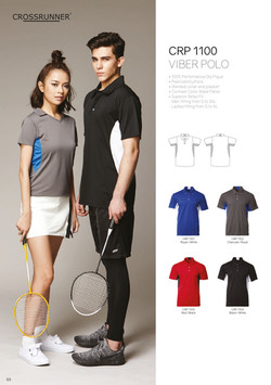 CRP1100 DRI FIT POLO T-SHIRT