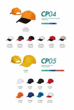 CAP CP04 CP05