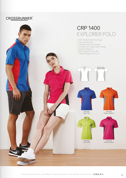 CRP1400 DRI FIT POLO T-SHIRT