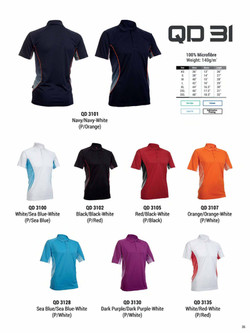 QD31 DRI FIT POLO T-SHIRT