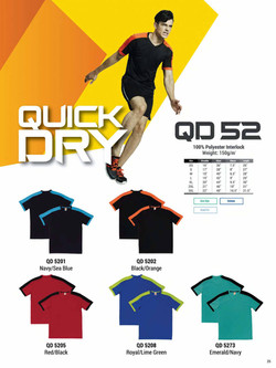 QD52 DRI FIT T-SHIRT