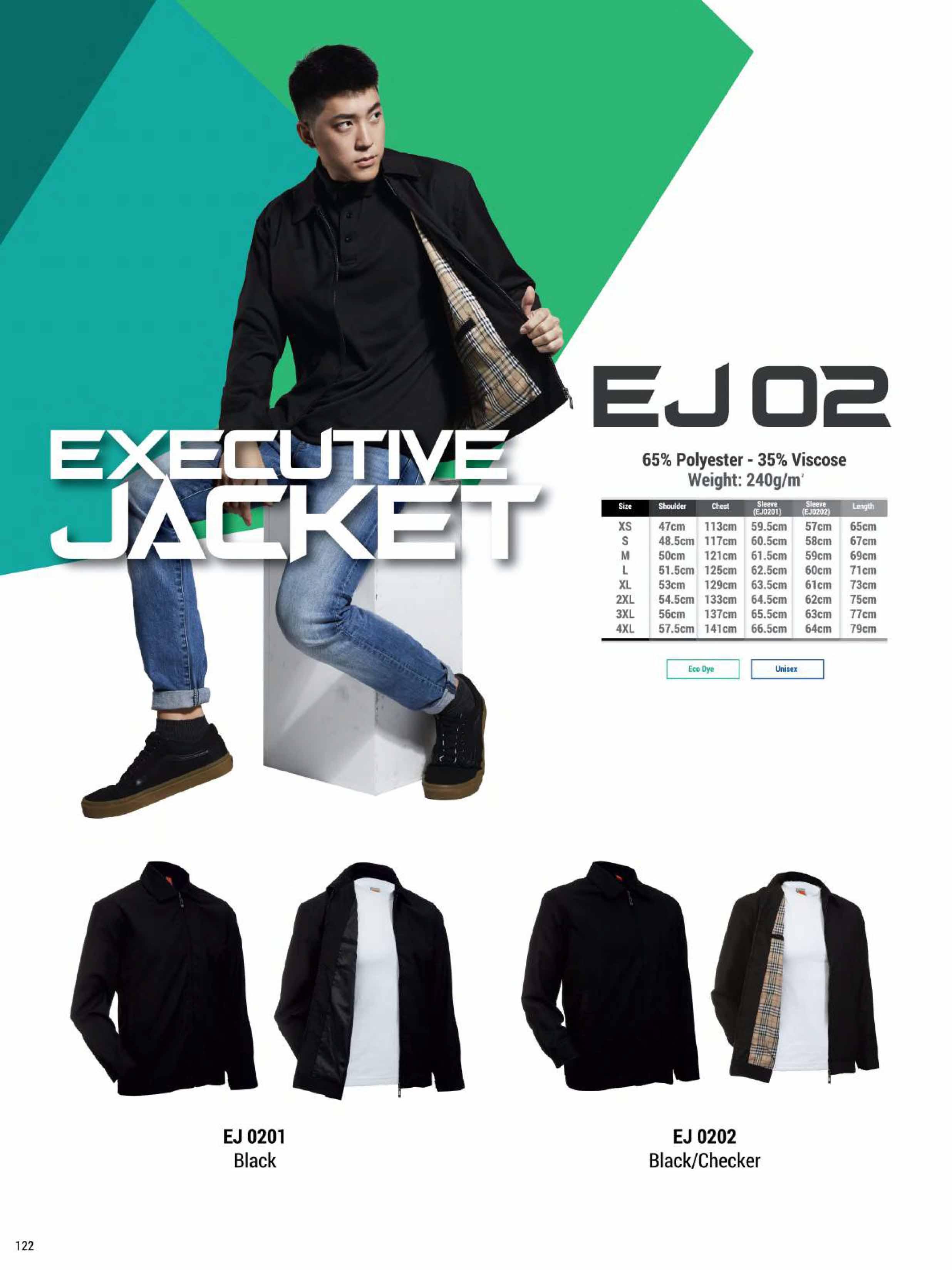 EJ02 EXECUTIVE JACKET