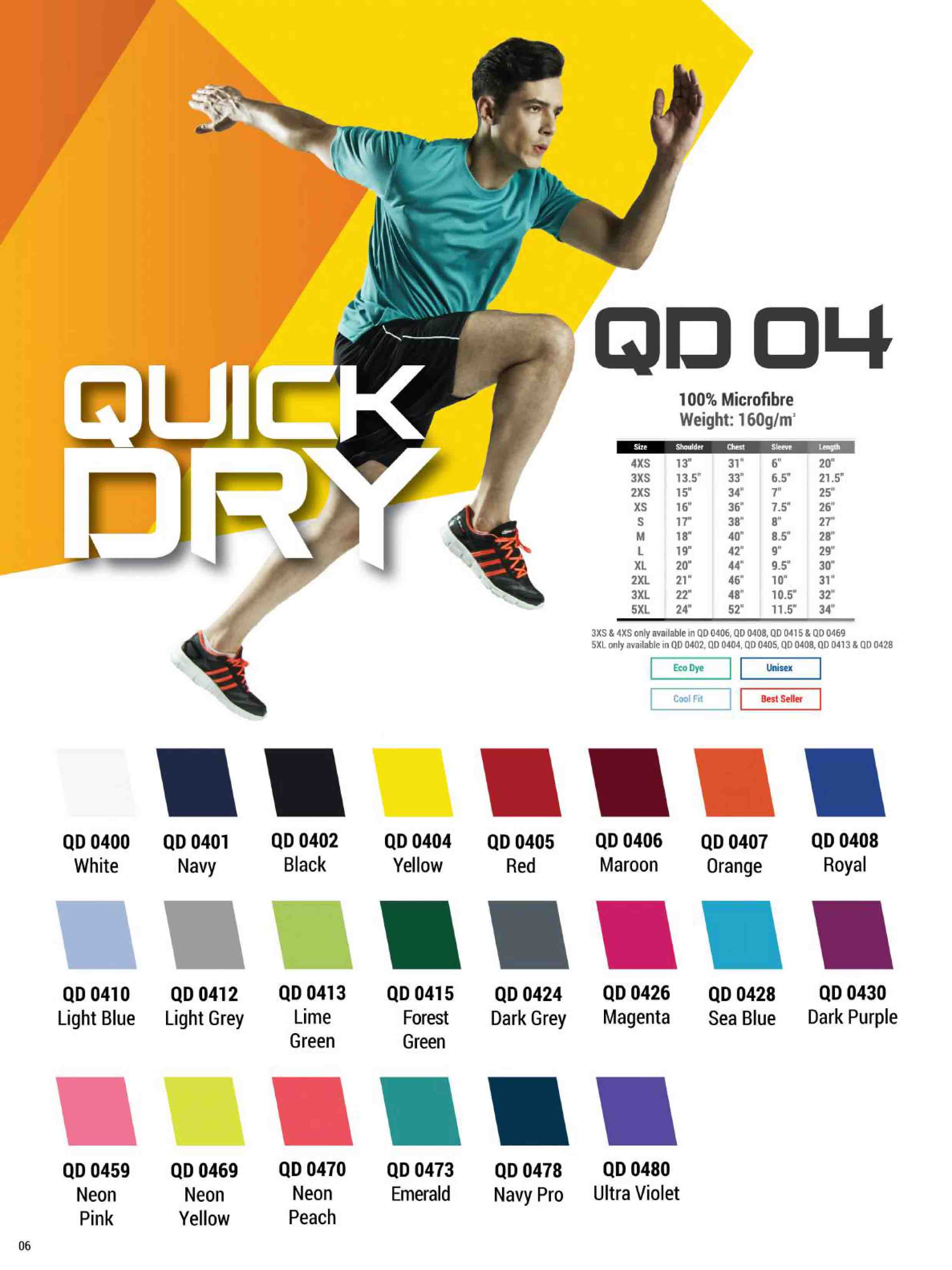 QD04 DRI FIT T-SHIRT