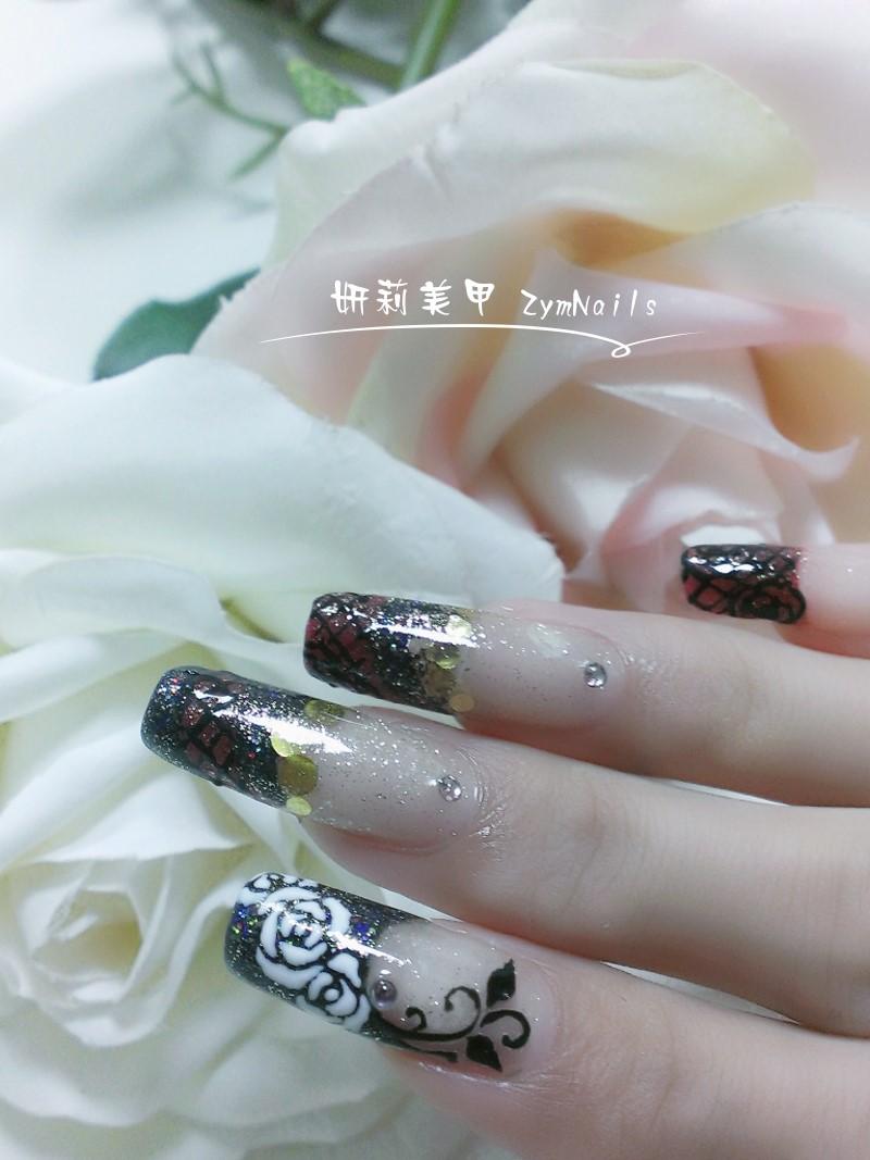 水晶指甲作品02