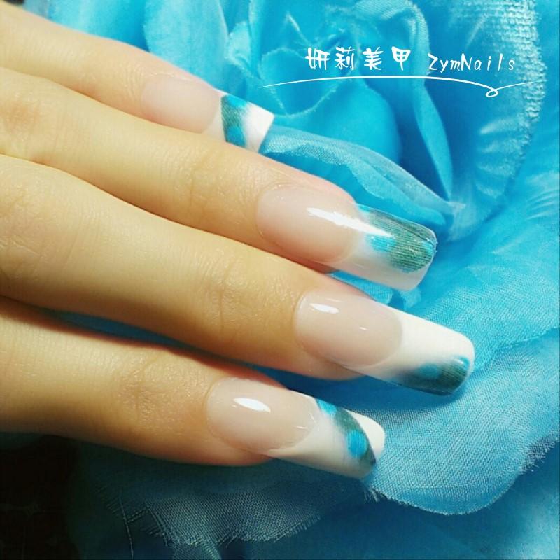 水晶指甲作品01