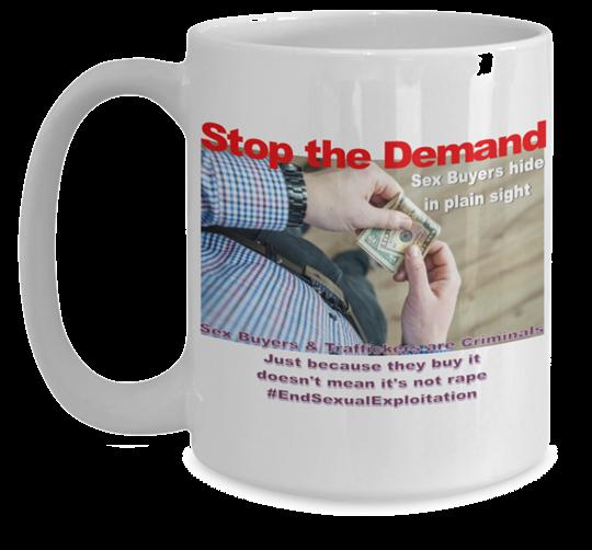 Hidden in Plain Sight (Stop the Demand) Mug