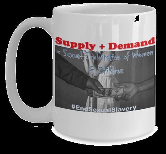 Supply and Demand Mug