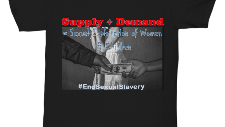 End Sexual Slavery Unisex Tee