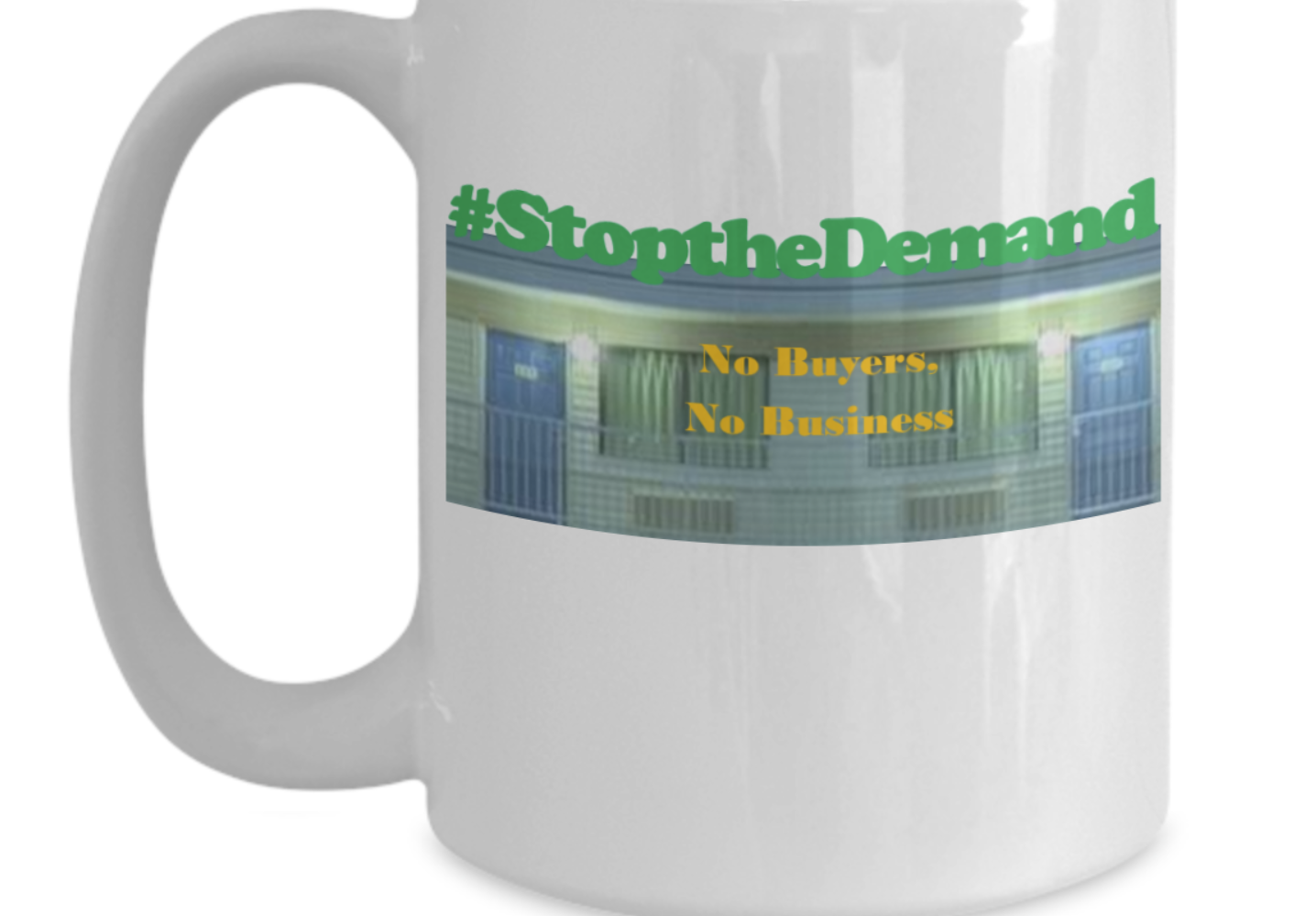 No More Buyers Mug