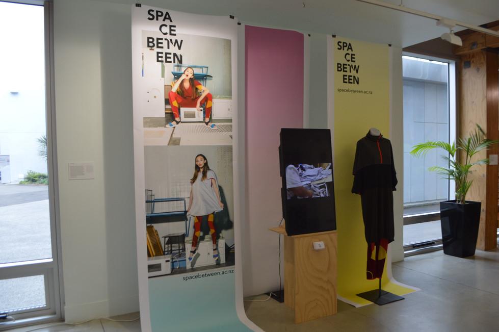 Space Between Helix Exhibition