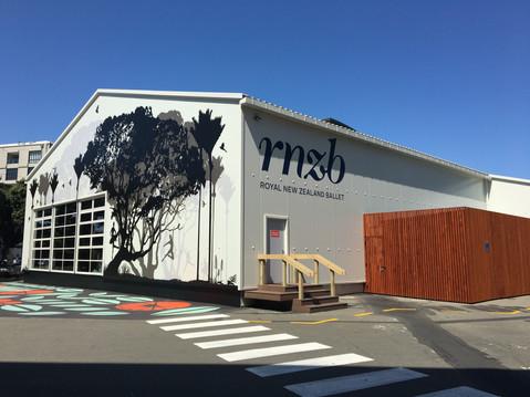 RNZB Temporary Studio