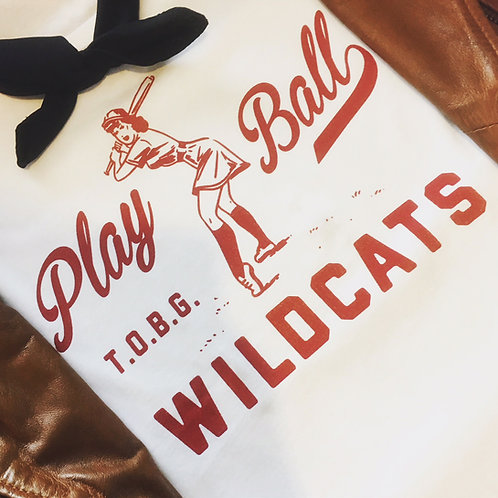 TOBG 'Play Ball' WILDCATS T