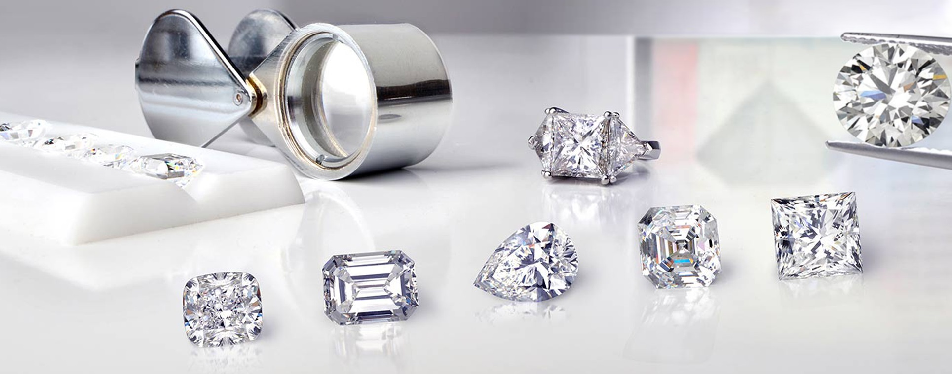 Engagement rings, wedding bands and jewelry